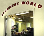 Entrance to Drummers World