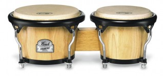 Pearl Primero Bongos (Tai Oak Natural Finish)