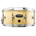 Grover Pro GSX 6.5x14 Snare - Natural Finish