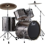 Pearl Export EXX 725/C Drum Set w/830HW (Smokey Chrome Shell)