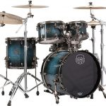 Mapex SV504XBMSL Deep Water Maple Burl (front view)