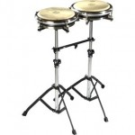 Pearl Double Travel Conga Stand with PPS-50TC Bridge