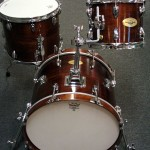 Drummers World 20-inch Nesting Kit in Walnut Oil-Stain Finish