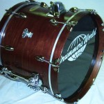 Drummers World Nesting Kit --all packed up to go-- Walnut Oil-Stain Finish