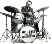 Mel Lewis at the Drumset