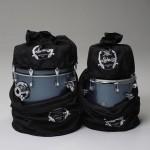 Breakbeats Velvet Storage Bags