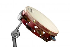 Grover Pro Tambourine Mounting Clamp in Use v.2