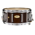 Pearl Philharmonic Series Solid Maple 14×6.5 Snare Drum in High Gloss Walnut