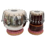 banjira Pro 16-Bolt Tuned Tabla Set Brass Bayan and 5.50-Inch Dayan