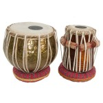 banjira Pro Tabla Set Embossed Brass and 5.50-Inch Dayan