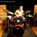 Drummers World Nesting Kit Demo by Rick Dior