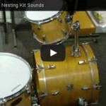 The Drummers World Nesting Kit Sound