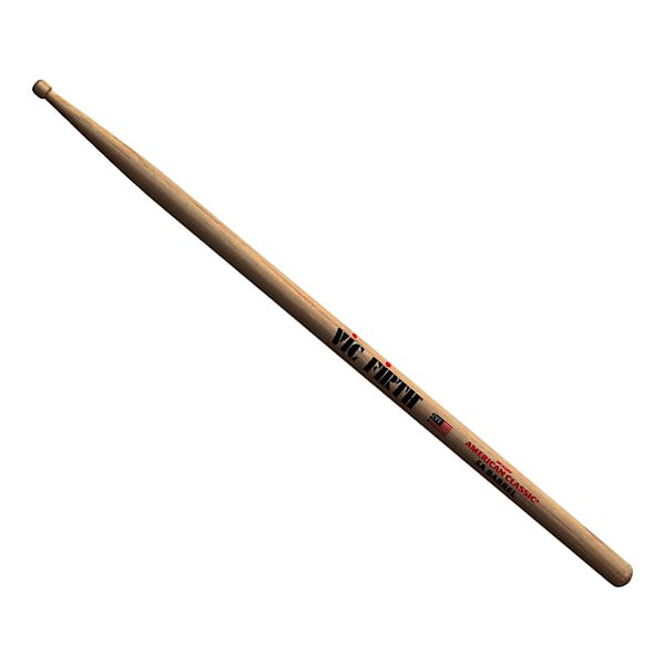 American Hickory 5ABRL Vic Firth American/® Classic Series Drumsticks Wood Barrel Tip