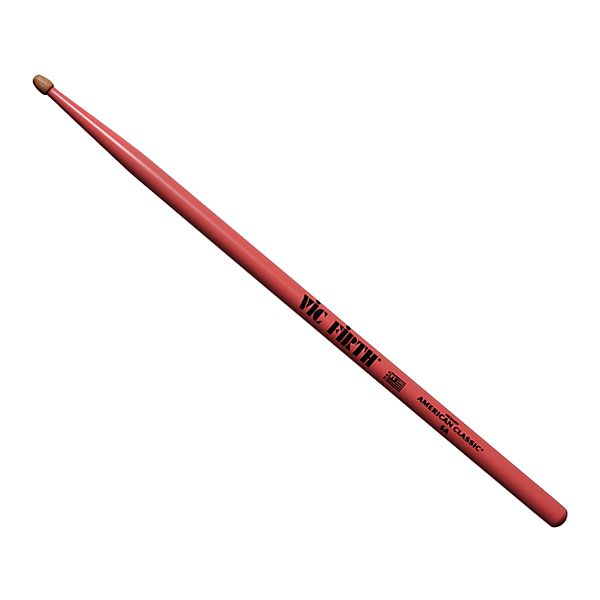 49aa8d9f2b Vic Firth 5A Pink American Classic Hickory Series Drumsticks