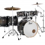 Pearl DMP927SP/C Decade Maple - Satin Black Burst Finish