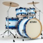 "Tama Superstar Classic 22"" 5 Piece Kit - Jet Blue Burst"