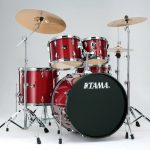 Tama Imperialstar 22-inch 5-pc Complete Set - Candy Apple Mist