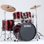 Tama Imperialstar 22-inch 5-pc Complete Set - Vintage Red