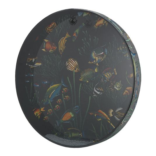 remo fish graphic ocean drum drummers world. Black Bedroom Furniture Sets. Home Design Ideas