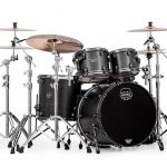 Mapex SV529XBKFB Satin Black Maple Burl (Front View)