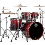 Mapex SV529XBRLE Cherry Mist Rosewood Burl (Front View)