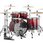 Mapex SV529XBRLE Cherry Mist Rosewood Burl (Rear View)