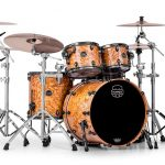 Mapex SV529XBSNL Natural Ash Burl (Front View)