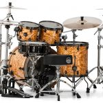 Mapex SV529XBSNL Natural Ash Burl (Rear View)