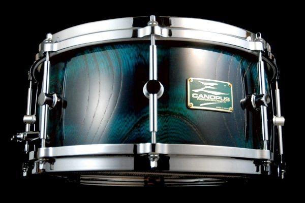 canopus limited edition gunjyo zelkova snare drum drummers world. Black Bedroom Furniture Sets. Home Design Ideas